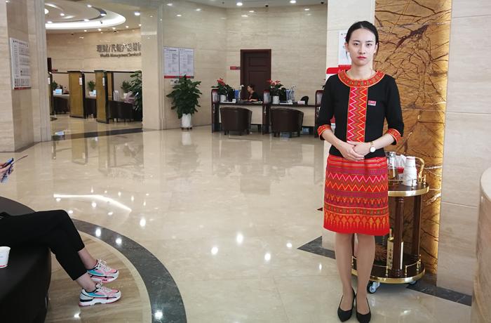 职业化民族特色服饰